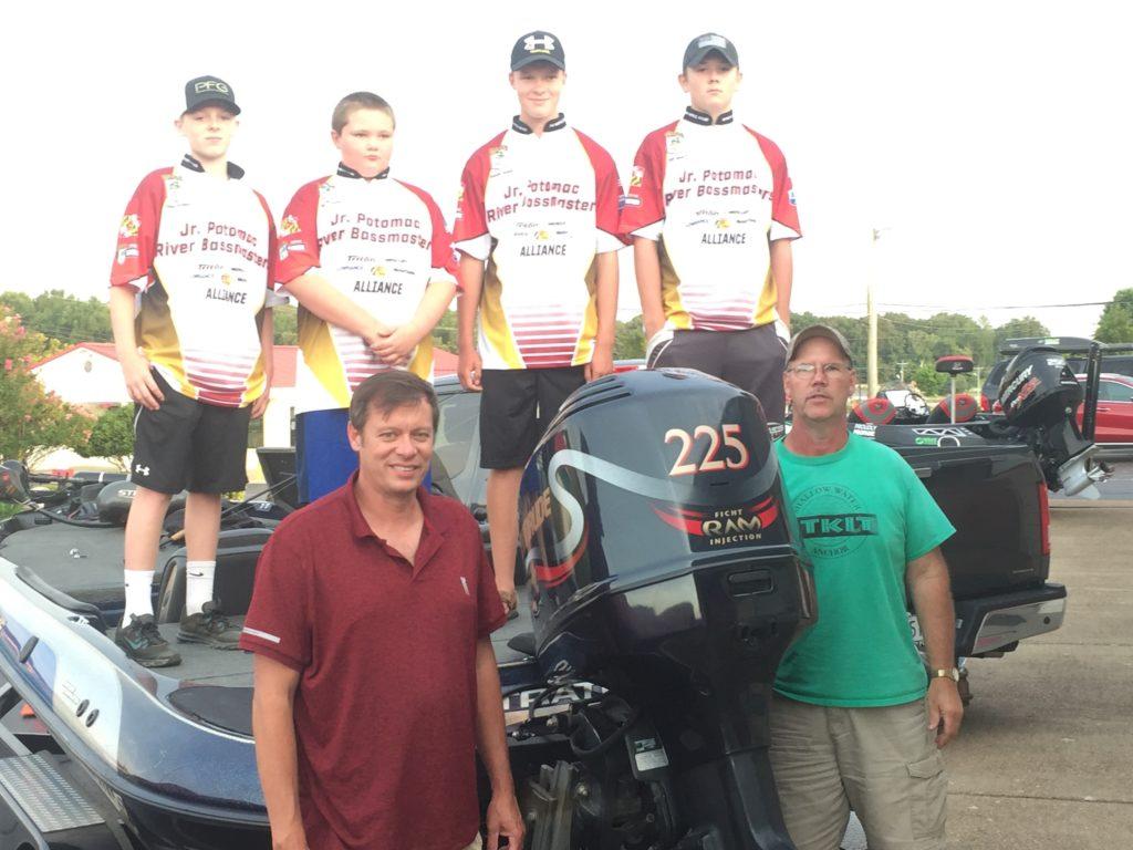 Jr Potomac River Bassmasters, 2018 Junior National Championship, July 31, August 1, 2018